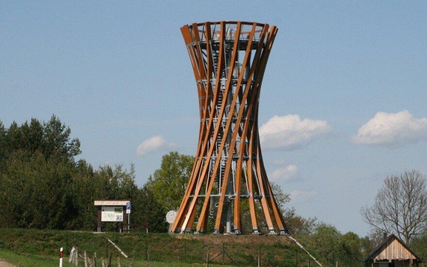 Apžvalgos bokštas Metelių regioniniame parke