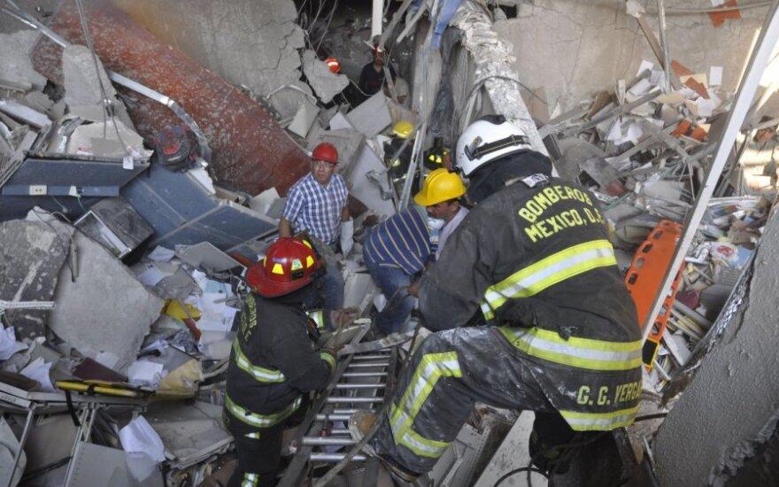 Взрыв небоскреба в Мексике: 25 погибших, более 100 раненых