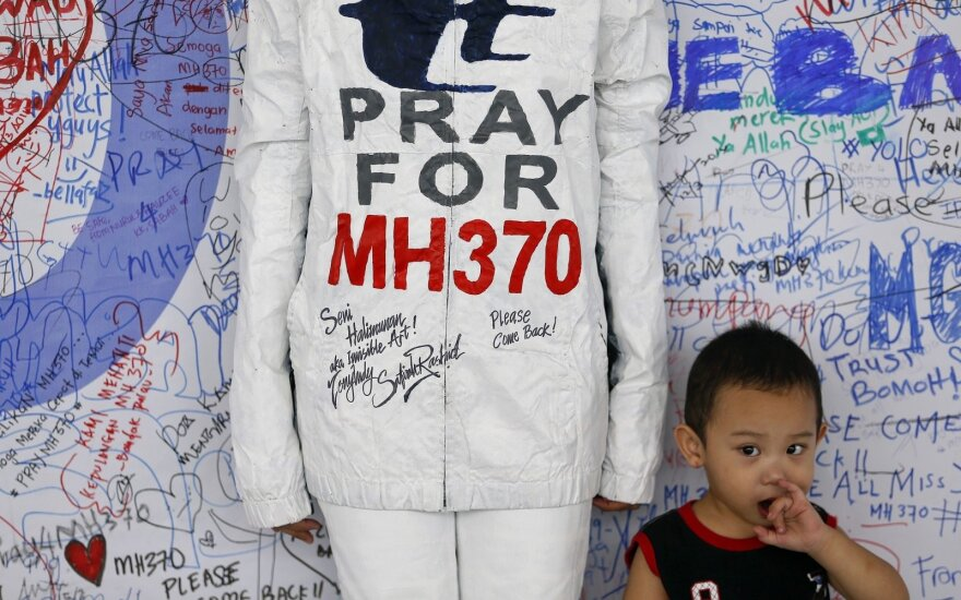 Nutraukta dingusio Malaizijos lėktuvo paieška