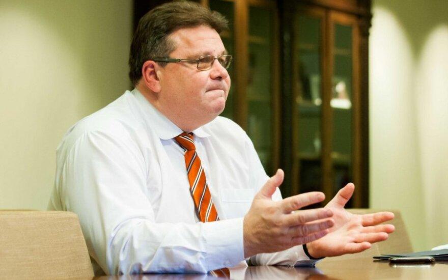 Глава МИД Литвы: что касается Украины, то на сегодня ответов нет