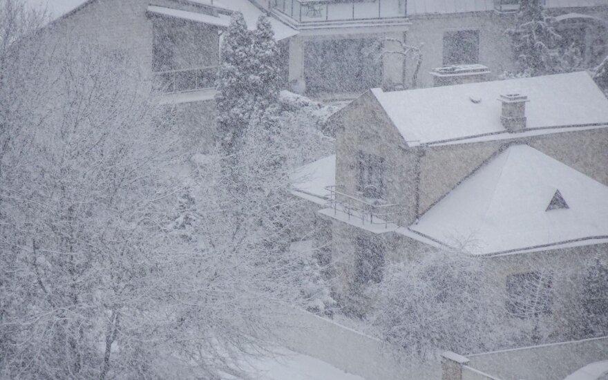 К Литве приближается циклон: сразу после холодов ждут перемены