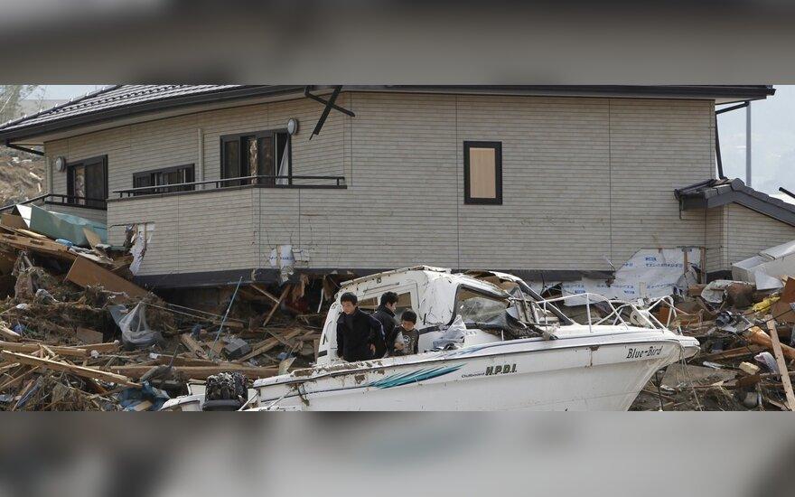 Cunamio padariniai Japonijoje