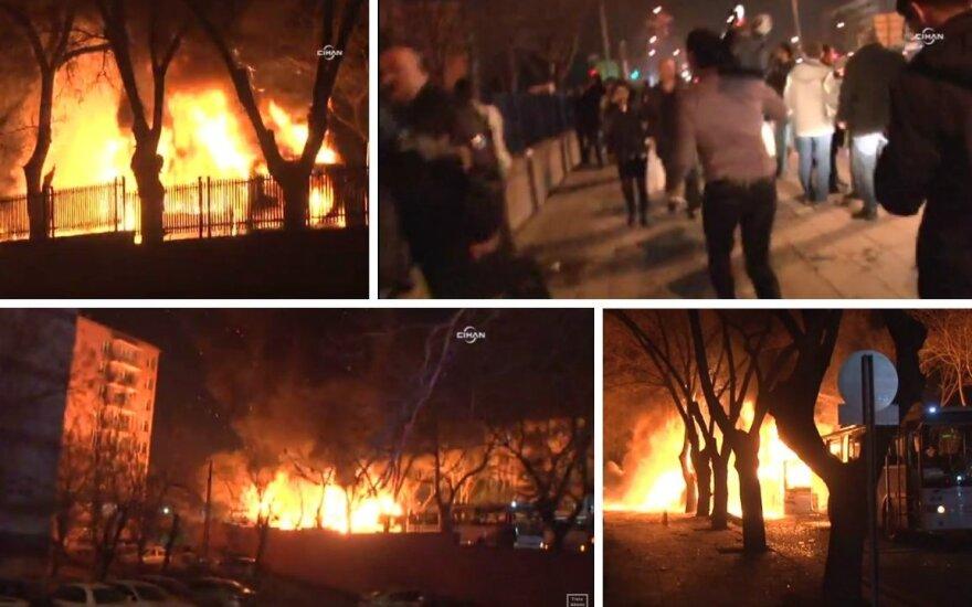 Мощный взрыв в Анкаре: есть погибшие и раненые