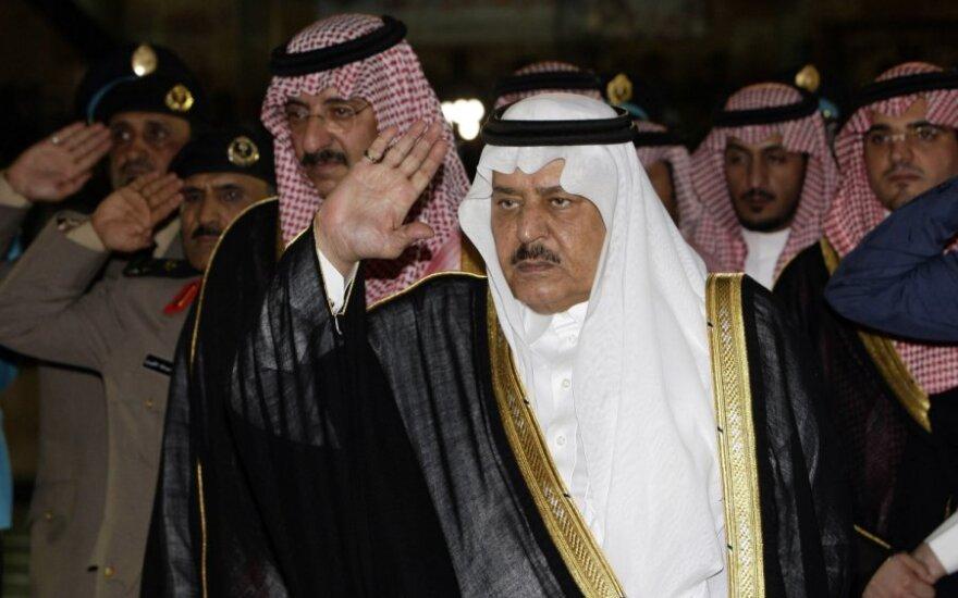 Saudo Arabijos princas Nayefas bin Abdulazizas al Saudas