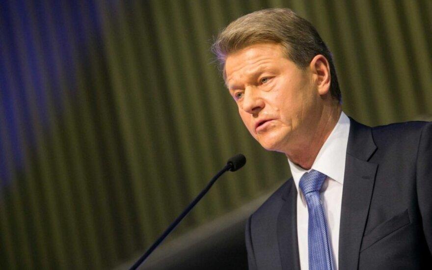Паксас зарегистрирован участником кампании по выборам президента Литвы