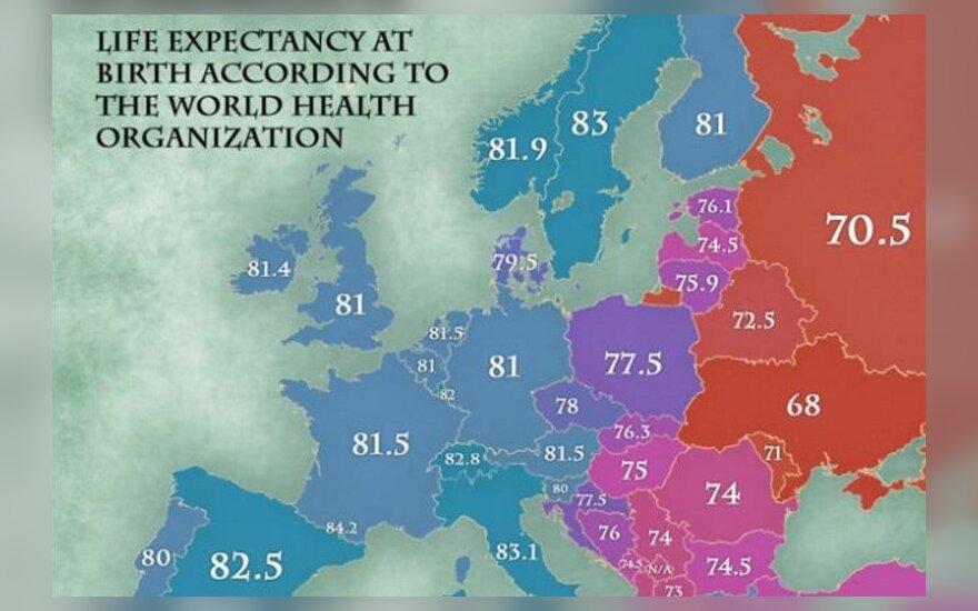 Oczekiwana długość życia. Foto: jakubmarian.com