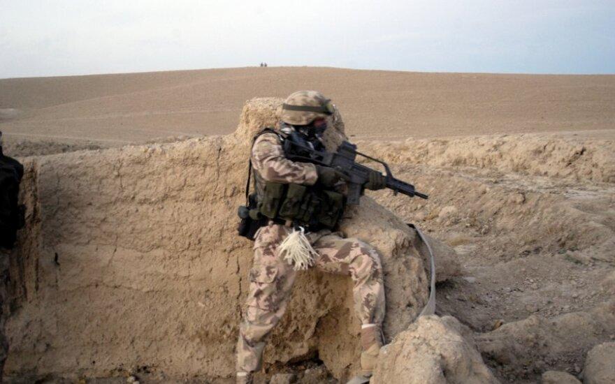 Lietuvos kariuomenės spec. pajėgos Afganistane
