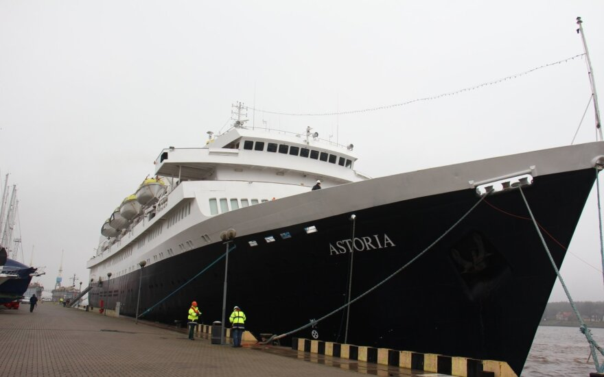 В Клайпеде в следующем году ждут рекордное количество круизных лайнеров