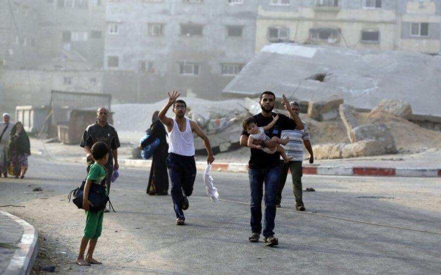 Ракетные обстрелы Израиля возобновились, сектор Газа снова бомбят