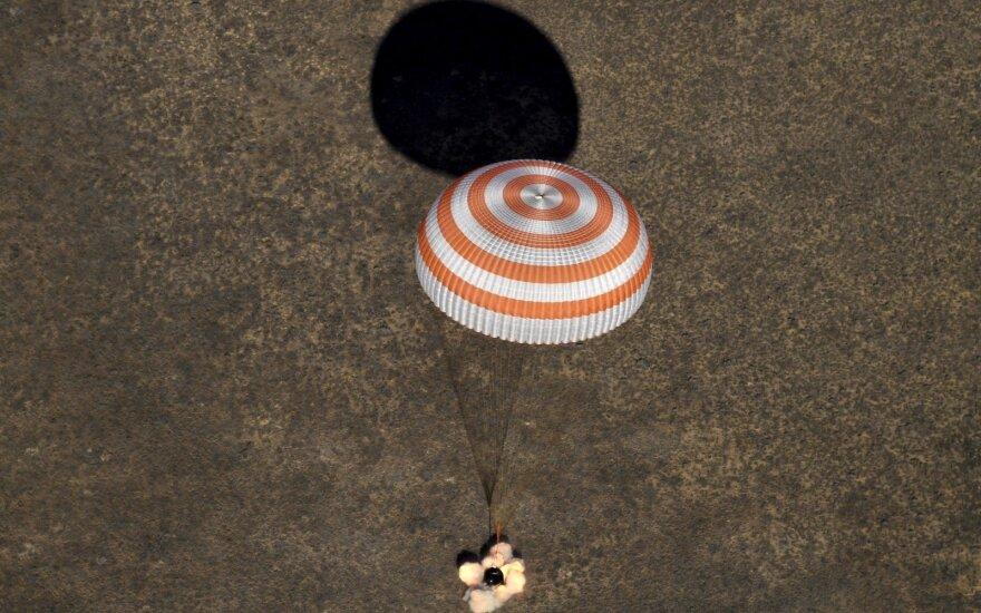 Экипаж 50-й экспедиции на МКС успешно вернулся на землю