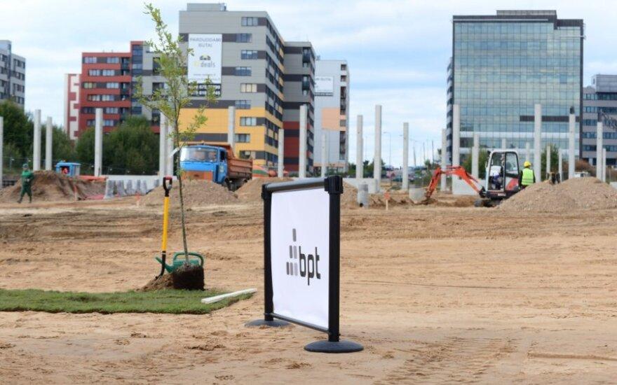 В Вильнюсе строят еще один торговый центр