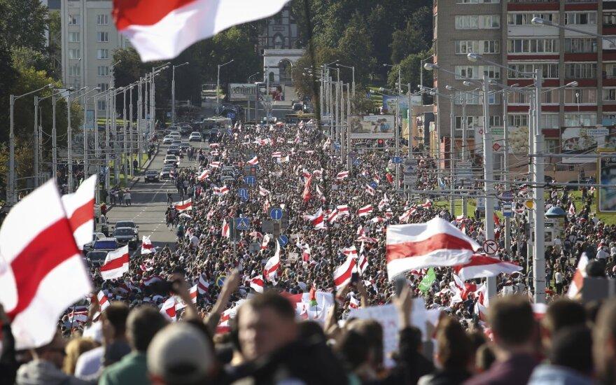 Protestas Baltarusijoje