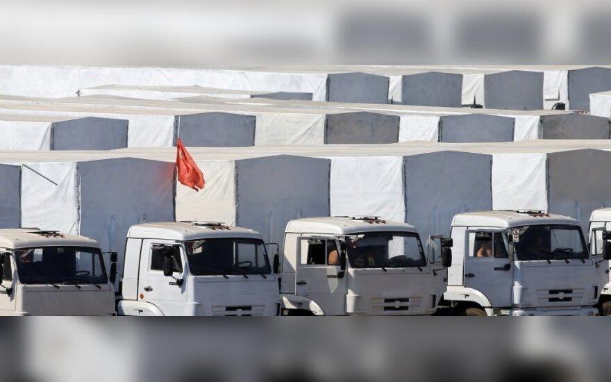 Украина признала российский конвой гуманитарной помощью