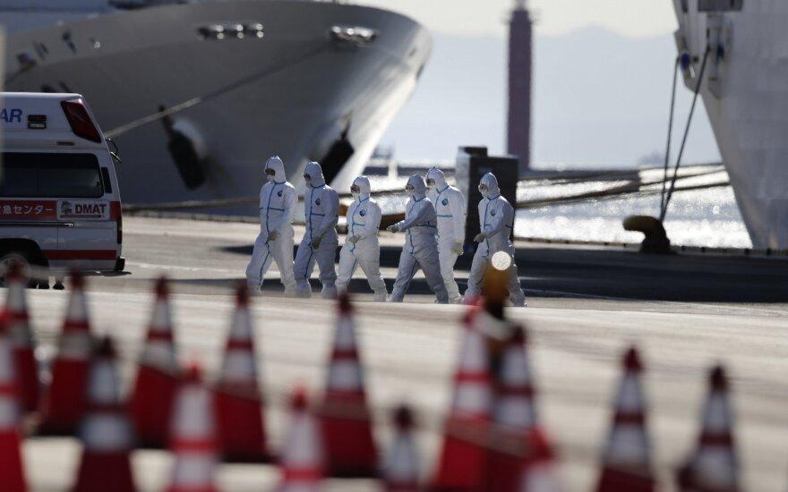 В Японии эвакуируют пассажиров лайнера Diamond Princess