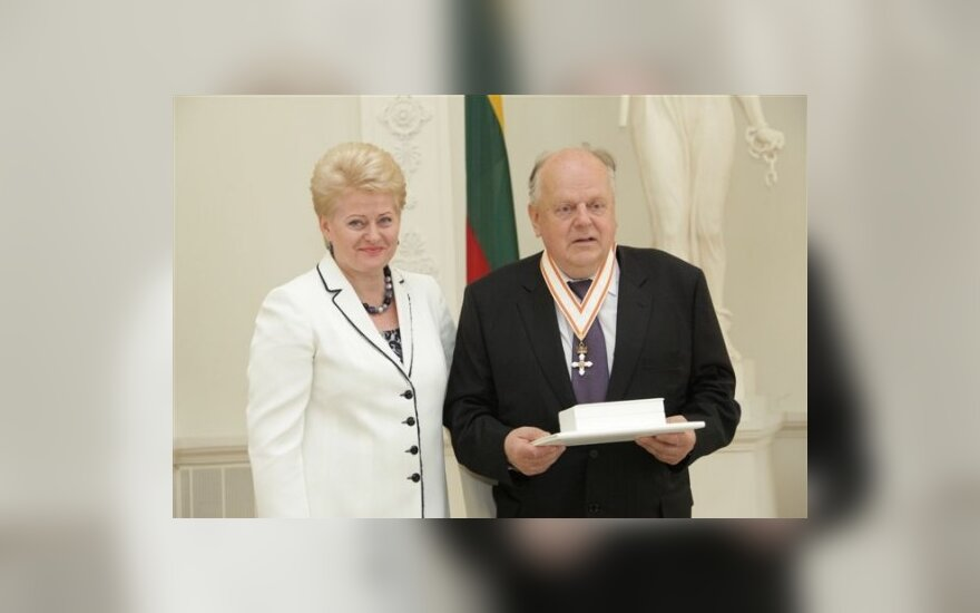 Д.Грибаускайте и С.Шушкевич