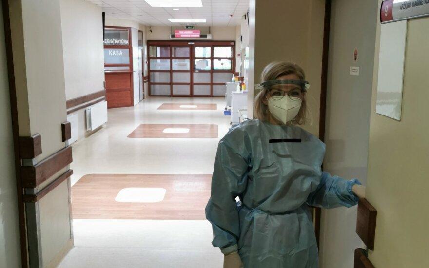 За сутки в Литве установлен 1531 случай коронавируса, скончались 13 человек