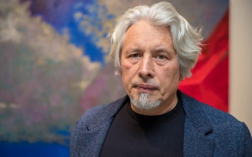 ФОТО: писатель Владимир Сорокин открыл в Таллине свою выставку