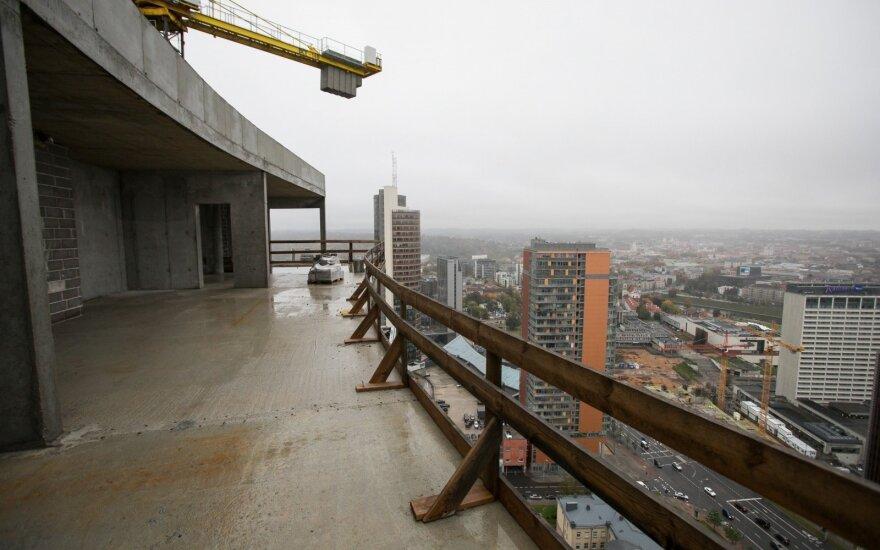 Евростат: годовой рост строительных работ в Литве один из крупнейших в ЕС