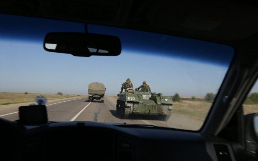 Украина: в штабе АТО подтвердили попытку вторжения армии РФ