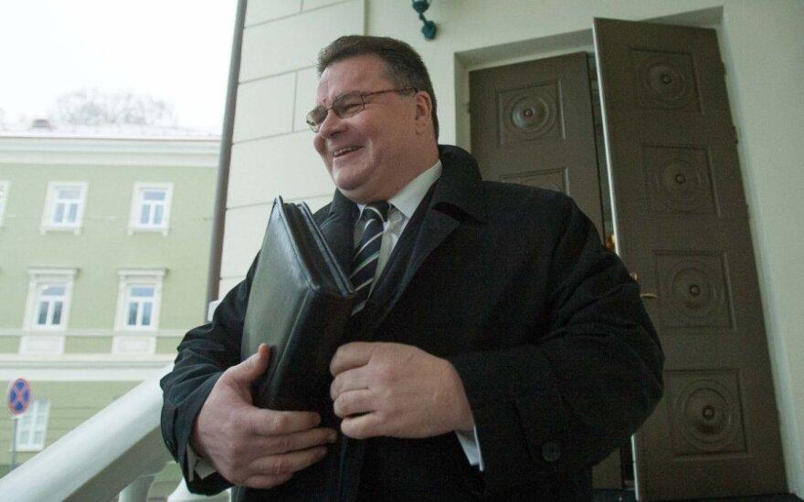 Нового главу МИД Литвы поздравил латвийский коллега