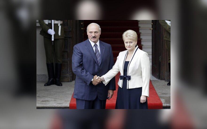 Политолог: визит Грибаускайте в Минск выглядит как поддержка Лукашенко