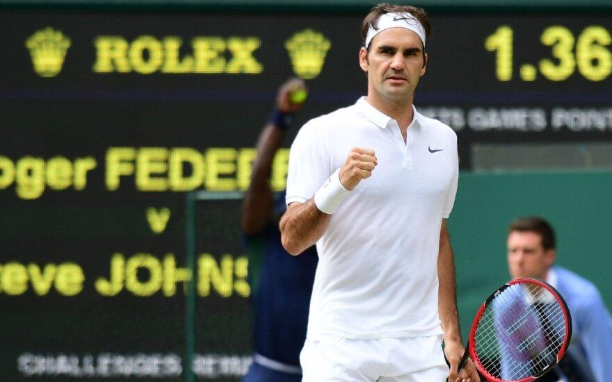 Уимблдон: Федерер повторил рекорд Коннорса