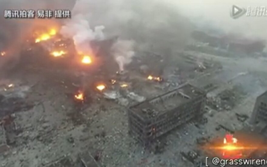 Взрывы в Китае: число погибших увеличилось вдвое
