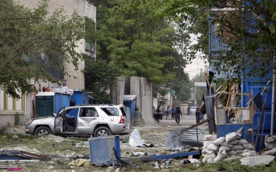В Кабуле произошел мощный взрыв