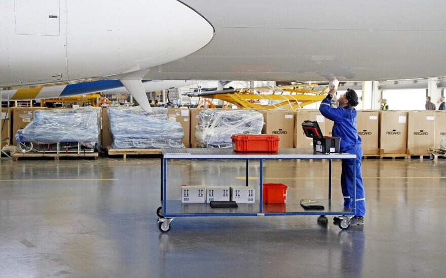"""FLTechnics"" lėktuvų remonto dirbtuvės Karmėlavoje"