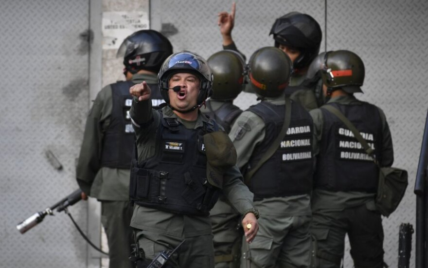 Venesuelos nacionalinės gvardijos pareigūnai