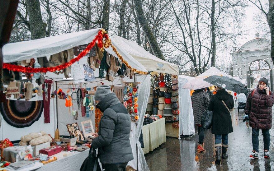 Рождественская ярмарка в парке Сапегов