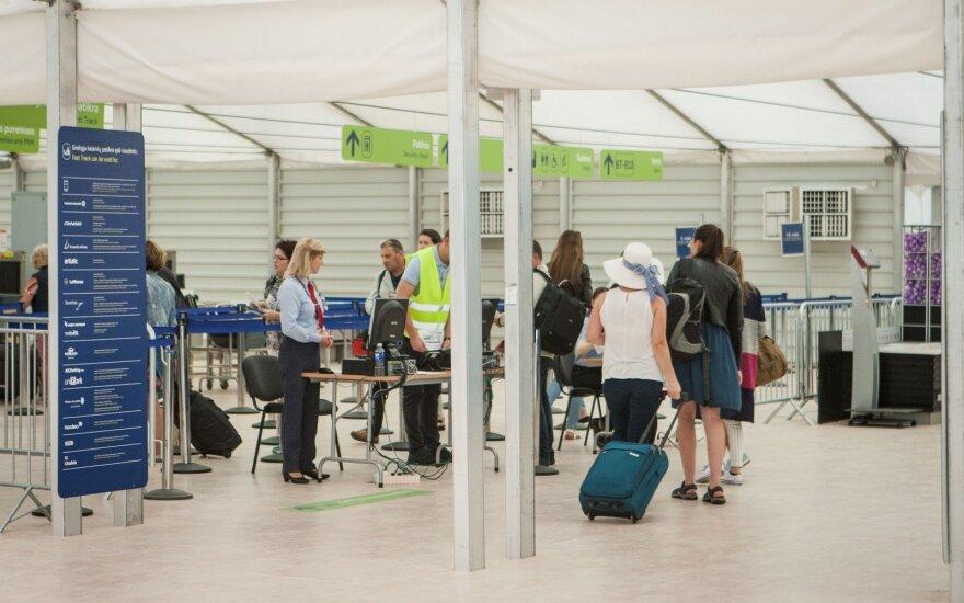Каунас справился в вызовом: очереди в аэропорту меньше, чем в Вильнюсе
