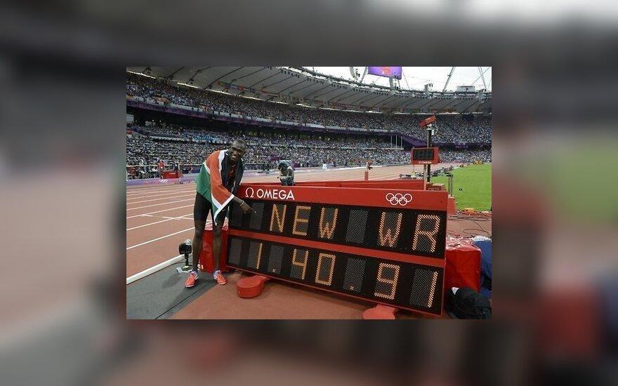 Установлен первый мировой рекорд в легкой атлетике