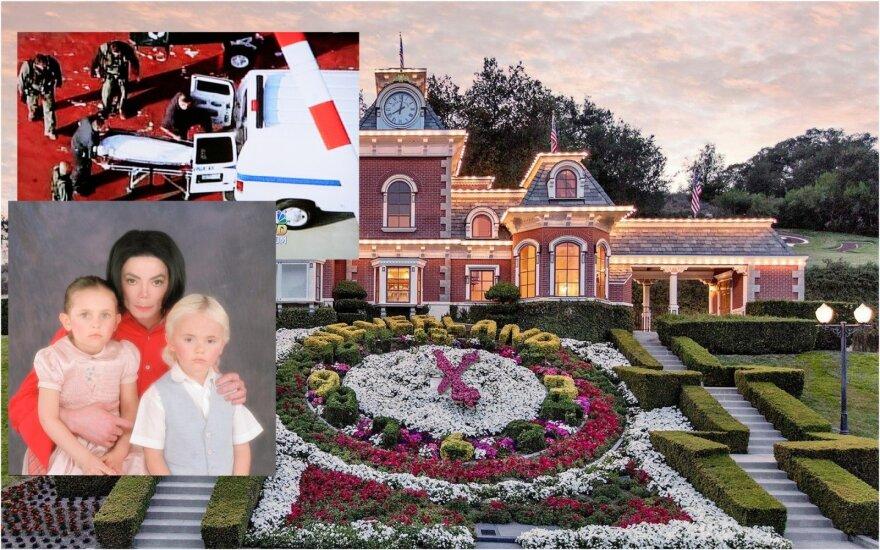 Michaelas Jacksonas, Neverland ranča
