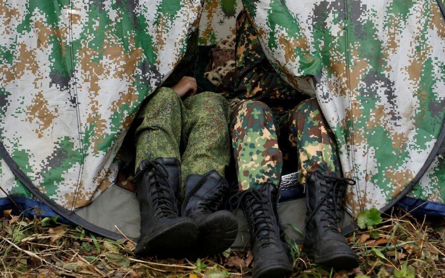 Российские военные согнали технику в оккупированный Крым для проведения учений