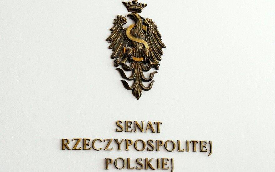 Сенат Польши рассмотрит использование помощи Варшавы Союзом поляков Литвы