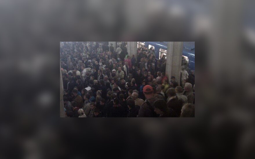На станции минского метро в час пик произошла давка