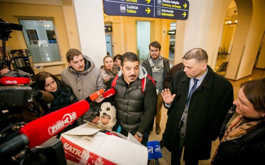 Pierwsi uchodźcy już na Litwie