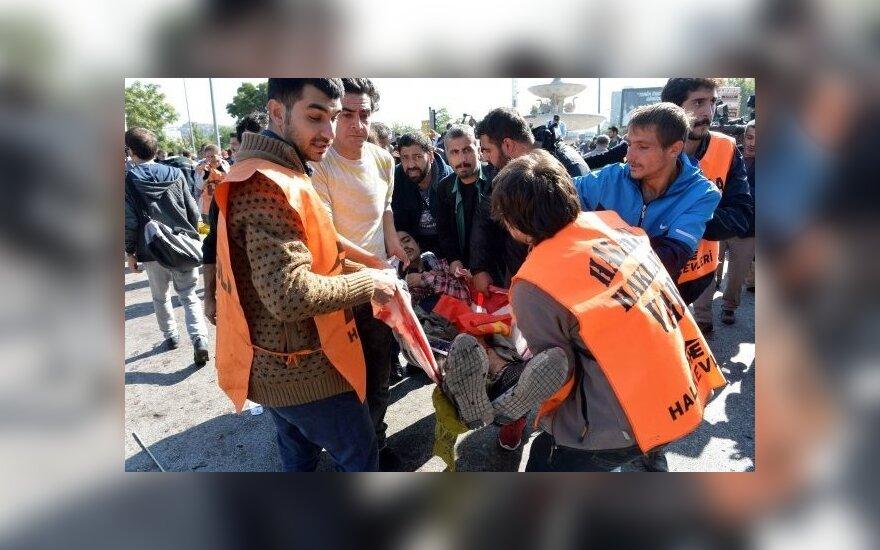 Ankaros traukinių stotyje nugriaudėjo sprogimas
