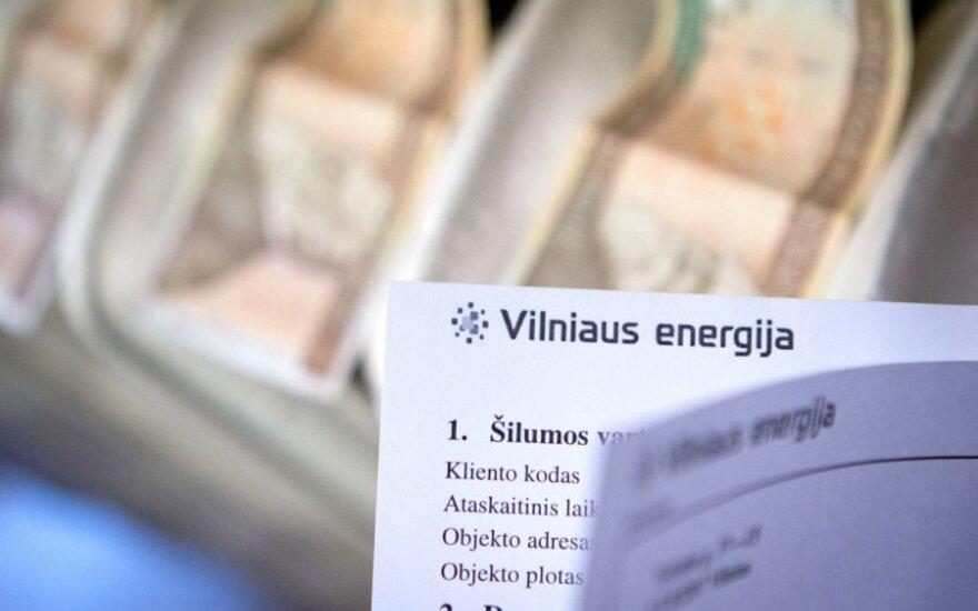 За три месяца на компенсации за отопление вильнюсцам выплатили почти 13 млн. литов