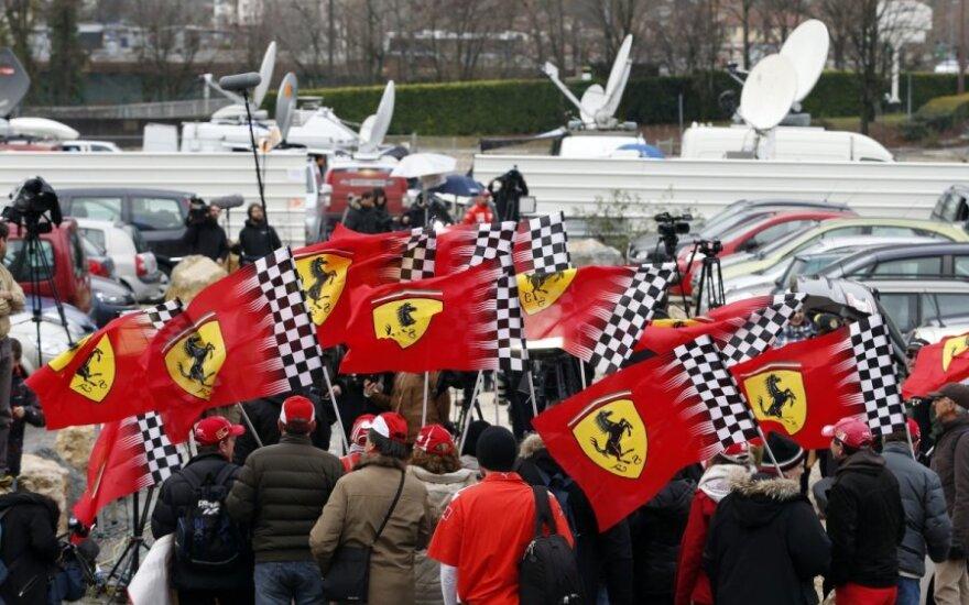 Kibice Schumachera zorganizowali akcję z okazji jego urodzin