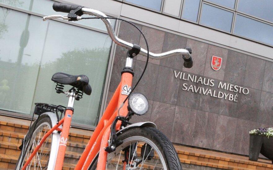 В Вильнюс возвращаются оранжевые велосипеды