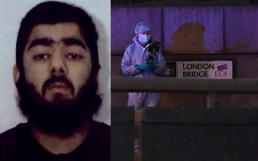 Išpuolį Londone įvykdęs Osmanas Khanas