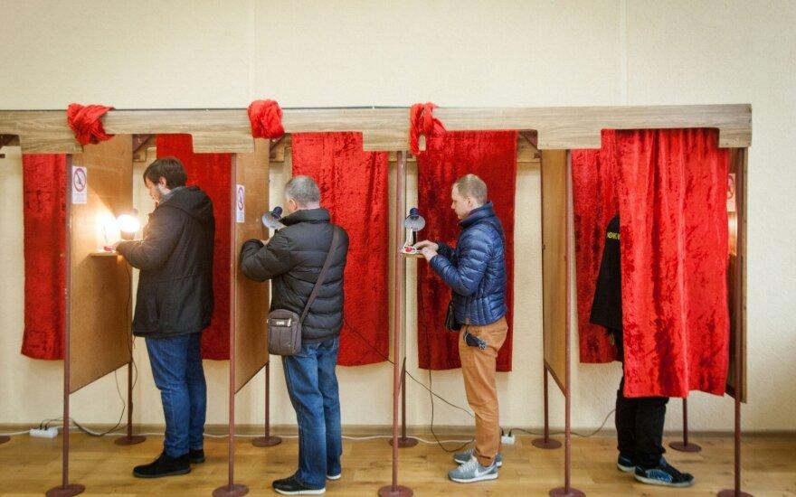 Лидеры по мандатам на муниципальных выборах в Литве - консерваторы и социал-демократы