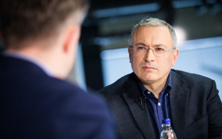 Михаил Ходорковский в студии DELFI: с бандитами нельзя дружить