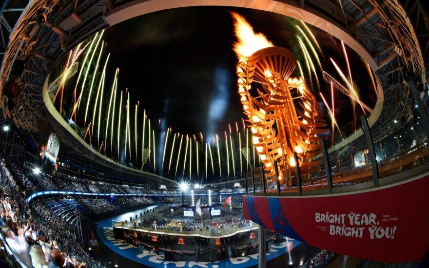 Europos žaidynių Minske atidarymo ceremonija
