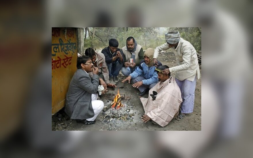 Аномальный холод в Индии: более ста погибших
