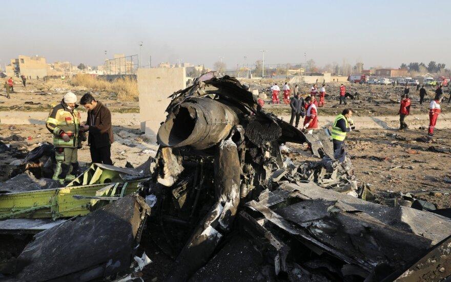 Иран признал, что не может расшифровать черные ящики сбитого украинского самолета