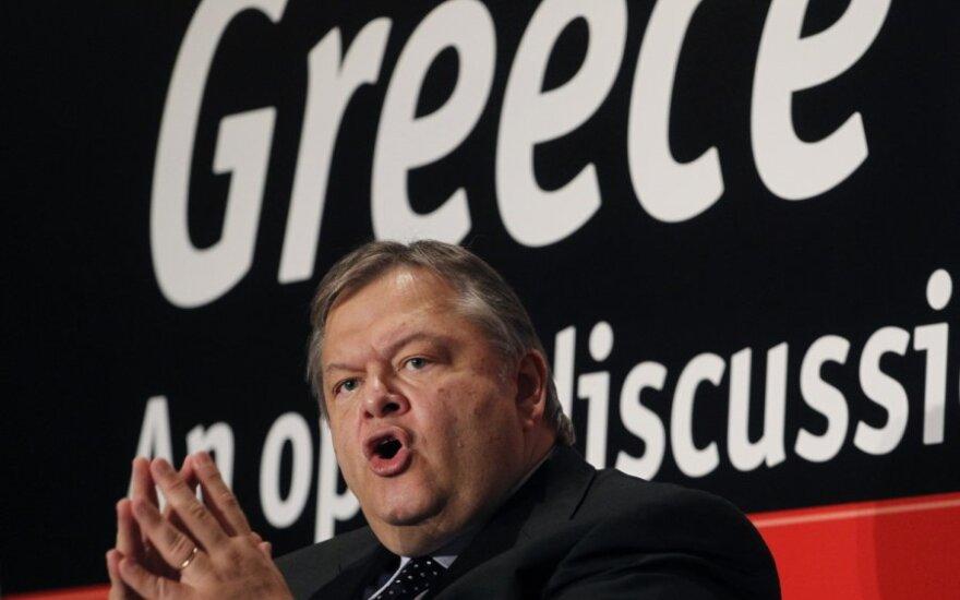 Graikijos finansų ministras Evangelos Venizelos