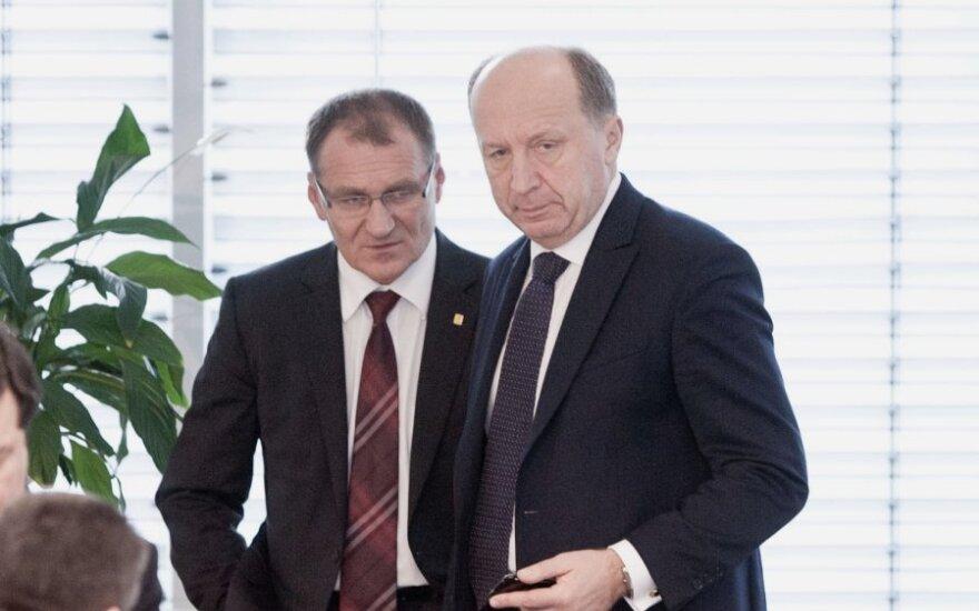 Algis Čaplikas, Andrius Kubilius